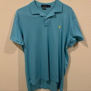 Polo by Ralph Lauren Shirts - Polo Ralph Lauren turquoise pima soft touch polo